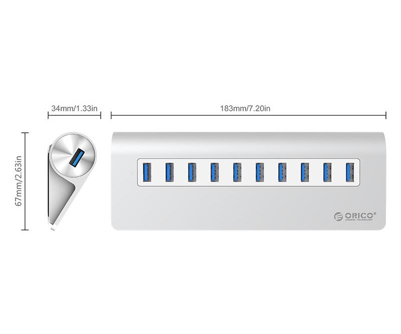BỘ CHIA USB M3H10-V1