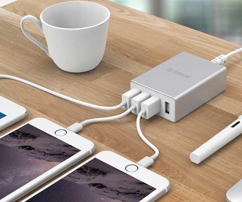 CỔNG SẠC USB ASK-4U-3