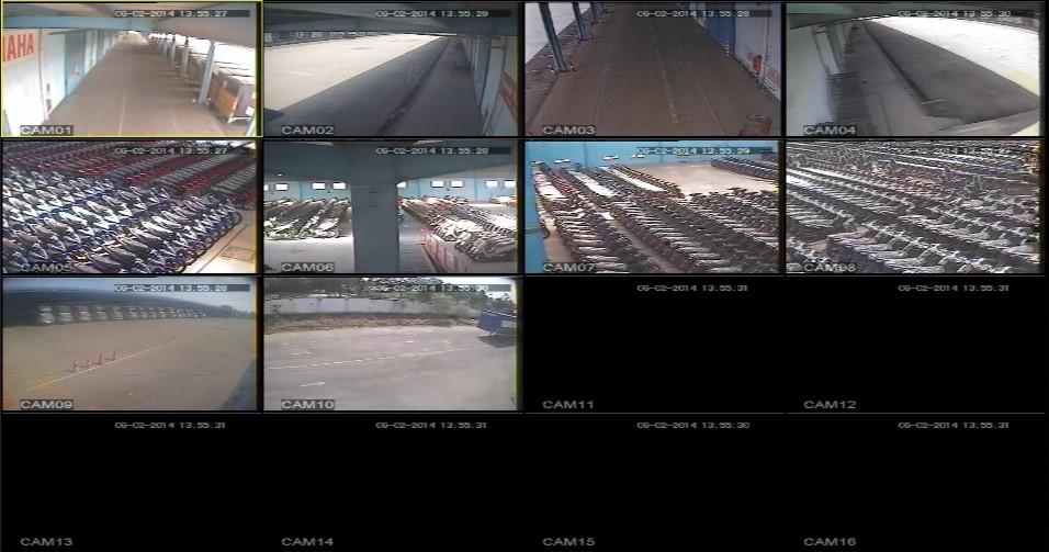 Hệ thống camera kho bãi KCX Linh Trung II