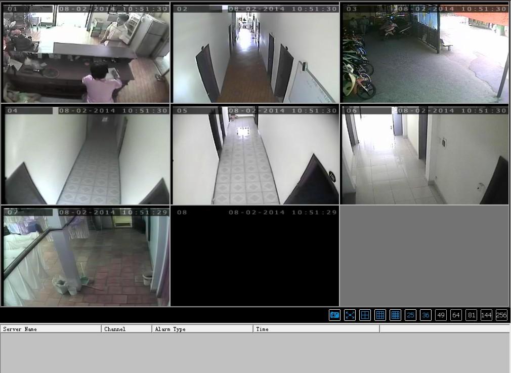 Hệ thống camera khách sạn Q12