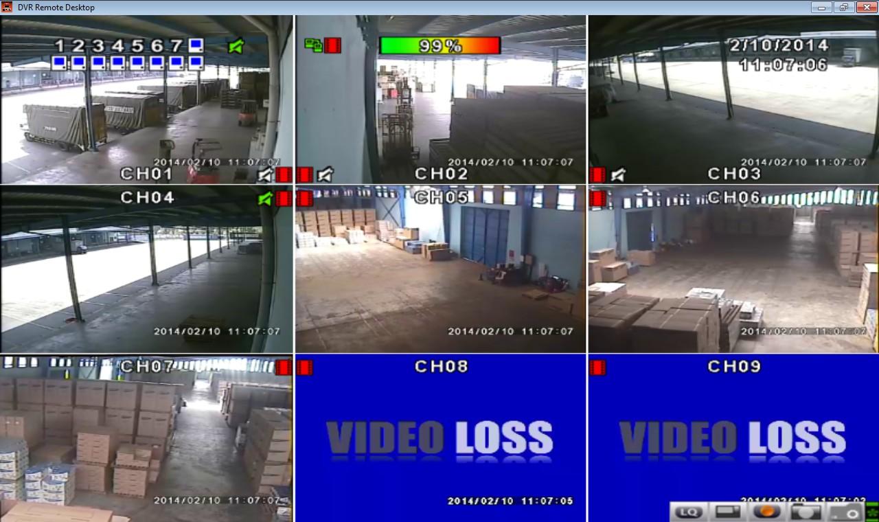 Hệ thống camera kho bãi ICD Sóng Thần